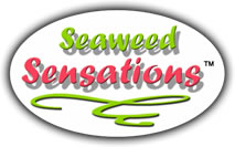 seaweed sensations, a range of organic gm free seaweed products